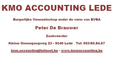 Goud KMO Accounting Lede