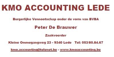 Goud KMO Accounting Lede