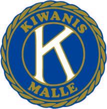 Hoofdsponsor Kiwanis Malle