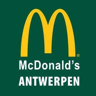 Hoofdsponsor-McDonalds Antwerpen